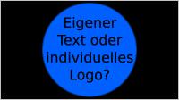 Eigener Text oder eigenes Logo