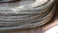 Jute-Seil, Durchmesser 6mm, ohne Höhenverstellung