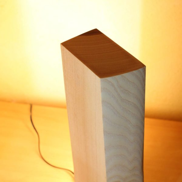 Vollspektrum Tageslichtlampe Holz Made in Germany