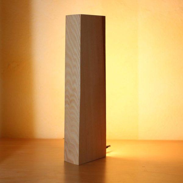 Vollspektrum Nachtischlampe SunLike LED Echtholz Esche